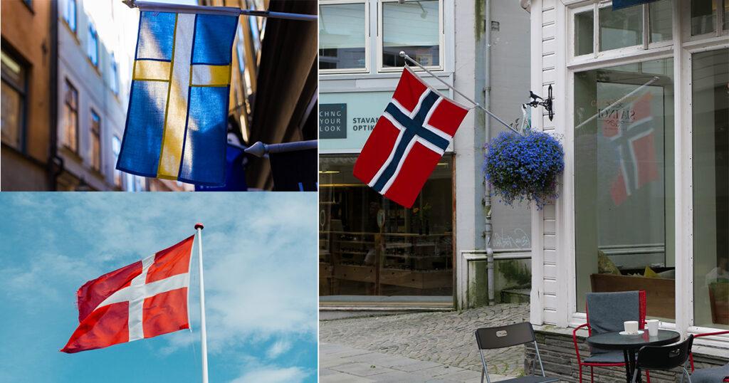 Swedish Norwegian Danish